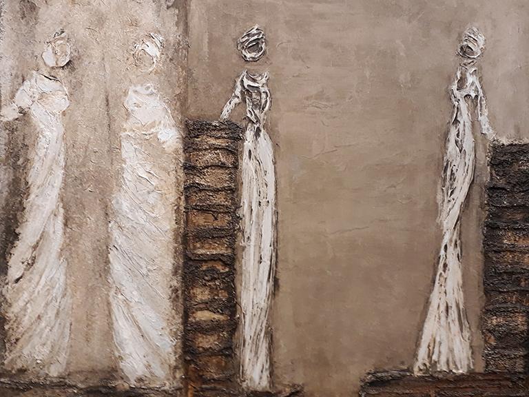 schilderij Julie - Les esprits de phantomes